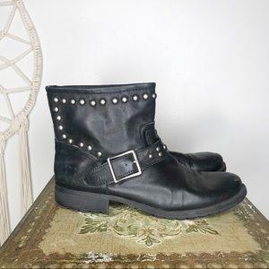 Kelsi Dagger Studded Moto Boots